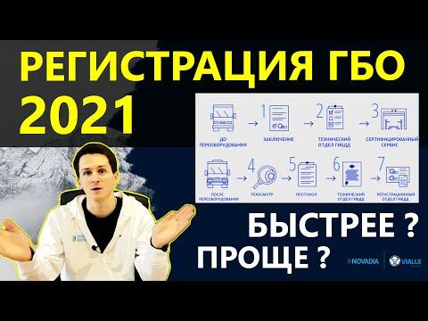 РЕГИСТРАЦИЯ ГБО 2021 - НОВЫЙ ПОРЯДОК! Изменения, все шаги!