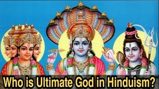 Who is Supreme God In Hindu religion ? Hinduism in English