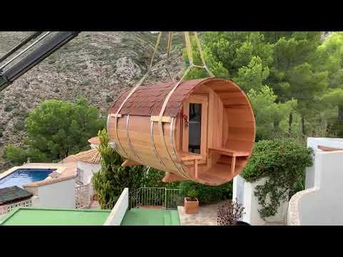 Sauna en barril Jalón