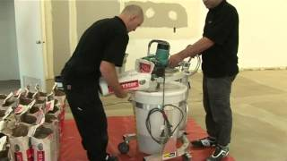 How To Self-Level Floors using Ardex and Smart Mixx