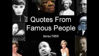 Quotes from Famous People