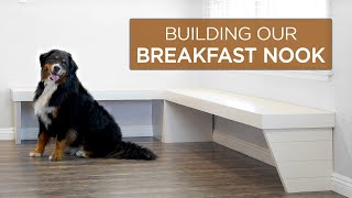 Building A Breakfast Nook | 61