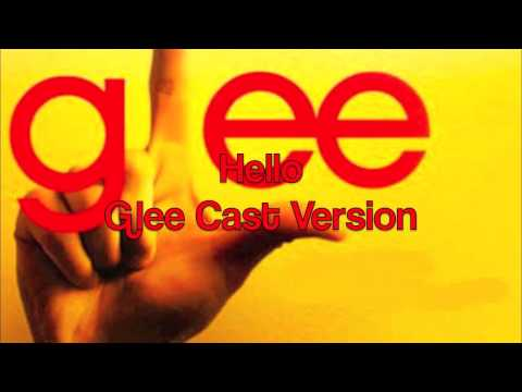 Hello (2010) (Song) by Glee Cast and Jonathan Groff