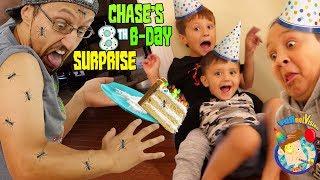 CHASE Turns 8!  HAPPY BIRTHDAY ANTS (FV Family Vlog)