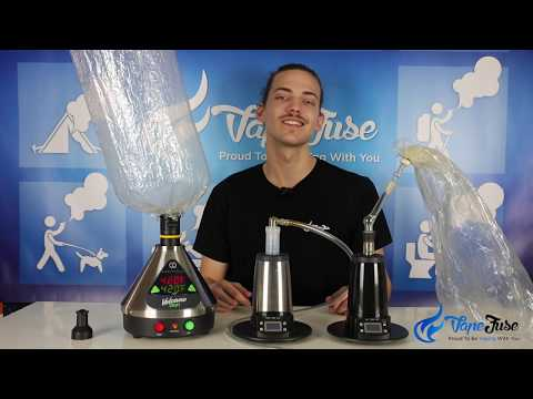 Whip vs Balloon Desktop Vaporizers | Vaping 101 Educational Video Series