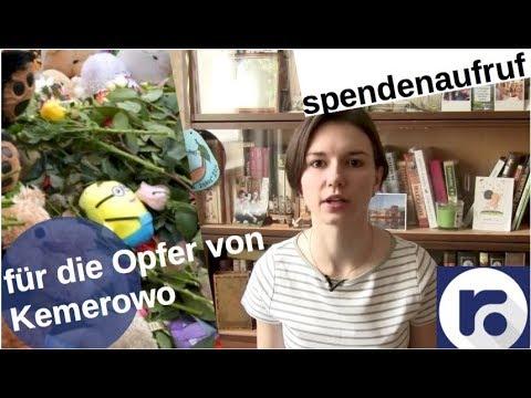 Wie Ihr für Kemerowo spenden könnt! [Video]