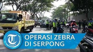 Operasi Zebra di Tangerang Selatan Menemukan sekitar 2000 Pengendara yang Melanggar