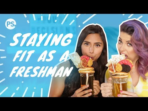 How to Avoid the Freshman 15 (ft. Michelle Khare) | Pour Decisions With Candace