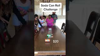 Soda Can Roll Challenge!