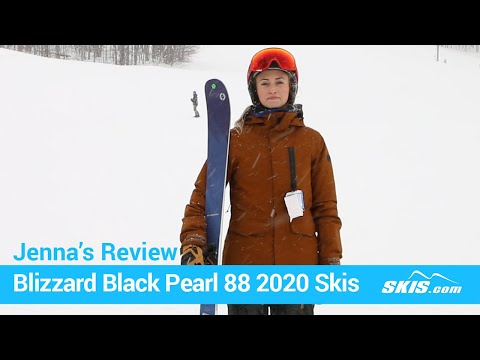 Video: Blizzard Black Pearl 88 Skis 2020 8 40