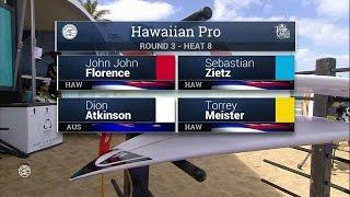 2016 Hawaiian Pro: Round Three Heat 8