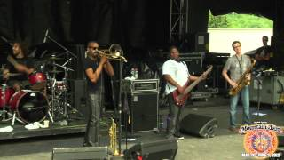 """Trombone Shorty & Orleans Avenue - """"One Night Only (The March)"""" - Mountain Jam VIII - 6/3/12"""