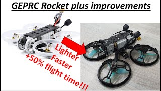 "Best 2.5"" DJI FPV whoop? Improve your GEPRC Rocket!"