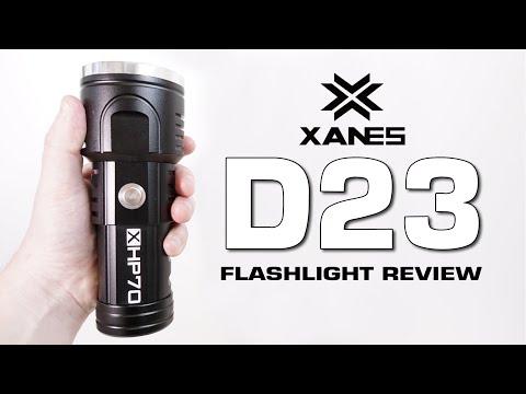 XANES D23 Flashlight review