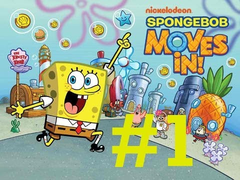 Let's Play SpongeBob Moves In Ep. 1 - Makin' Krabby Patties!