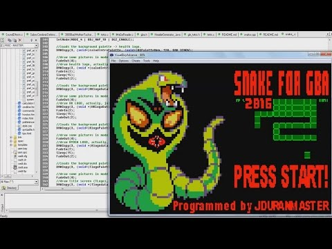 Creating a SNAKE Game Engine for Game Boy Advance using C Programming Language (DevKitAdv Dev. Kit)