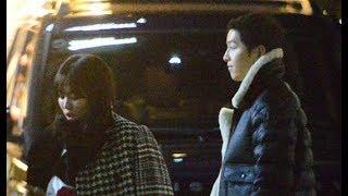 Song Joong Ki Song Hye Kyo Dating in Tokyo By Dispatch 송중기♥송혜교, 데이트도 드라마  宋仲基 宋慧乔