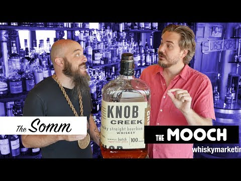 Ep 156: Knob Creek Kentucky Straight Bourbon Whiskey Review and Tasting with Glen Breton 10 Cameo