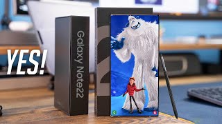 Samsung Galaxy Note 22 Ultra - YES, FINALLY!