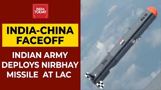 India-China Faceoff: Indian Army Deploys Nirbhay Missile At LAC In Ladakh | Breaking News - Download this Video in MP3, M4A, WEBM, MP4, 3GP