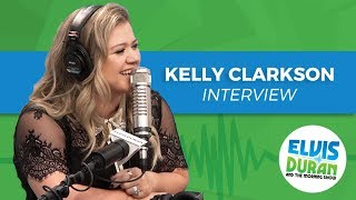 Kelly Clarkson On Hating Pregnancy, The Voice, And Making Music She Likes | Elvis Duran Show | Kholo.pk