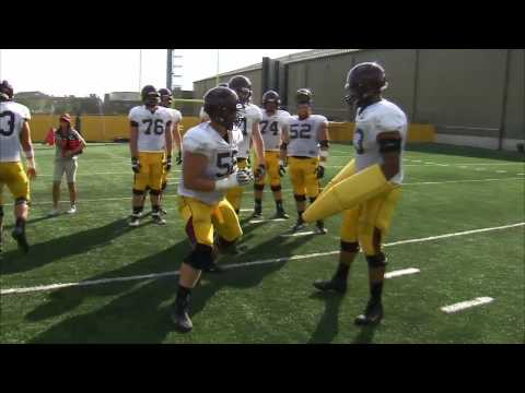 Jerry Kill Interview - 2013 Fall Football Practice Tour