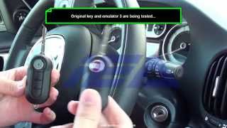 Remote Key Cloning function onto Emulator3 remote key for 2013 Fiat 500L-46 Transponder