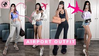 Airport Outfit   Cute + Comfy Travel   Lara Benjamina