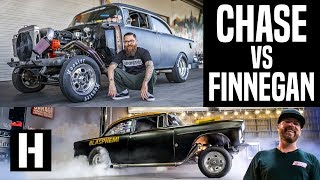 Chase vs Finnegan: the Road to Beating Blasphemi. How NOT to Get an NHRA License!