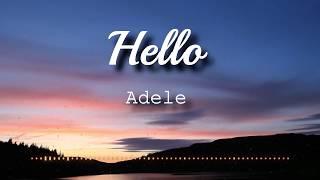 Adele   Hello (Lyrics Video)