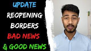 Update : Reopening of borders | BAD News & Good News | International Students | Study in Australia