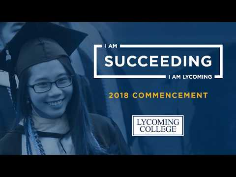 Lycoming College Commencement - May 12, 2018