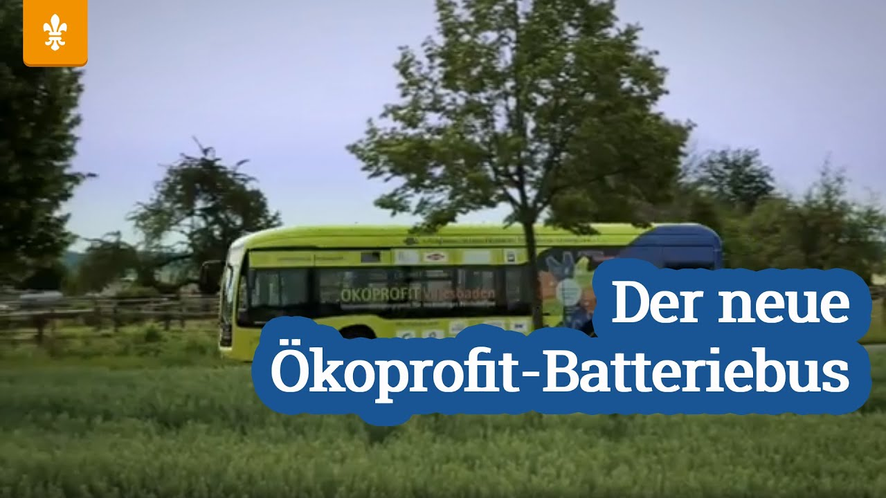 Der neue Ökoprofit-Batteriebus