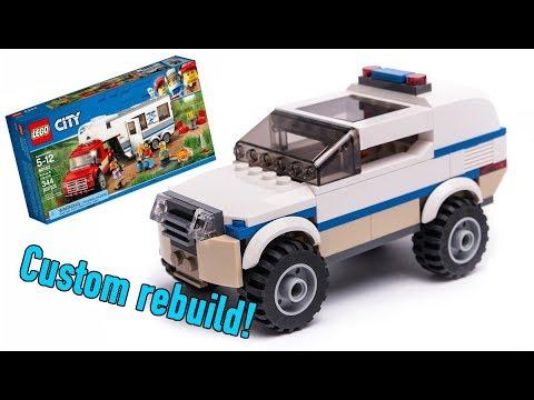LEGO City Police Station MOC Instructions - смотреть онлайн