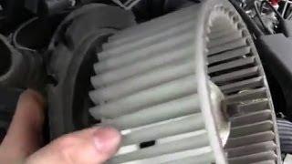 Noisy Blower Motor Repair