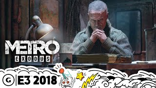 Metro Exodus Extended New Features Gameplay Demo | E3 2018