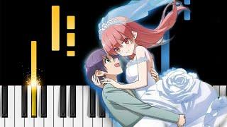 Tonikaku Kawaii OP - Koi no Uta - EASY Piano Tutorial
