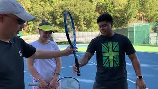 THE BEST WAY TO TEACH TENNIS TO A TRUE BEGINNER : THE FIRST LESSON