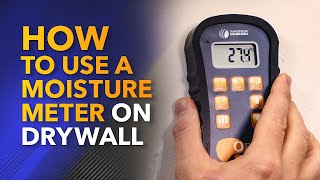 How to Use a Moisture Meter on Drywall