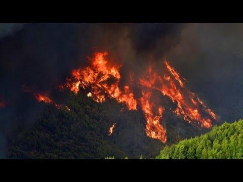 Η Ελλάδα στις φλόγες: Εύβοια, Ηλεία, Μεσσηνία και Αττική καίγονται…