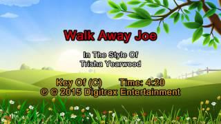 Trisha Yearwood (w/ Don Henley) - Walkaway Joe (Backing Track)