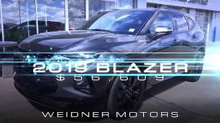 2019 Chevrolet Blazer / RS, AWD, Shadow Grey / 19n135