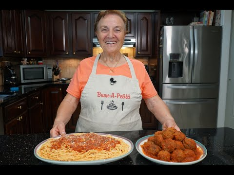Italian Grandma Makes Meatballs (and Spaghetti)