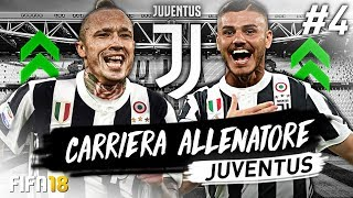 CLAMOROSO FINALE DI CALCIOMERCATO! CARRIERA ALLENATORE JUVENTUS #4 | FIFA 18
