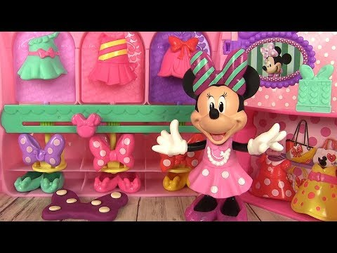 Minnie Mouse La Boutique de Minnie Jouet Rubans et Robes