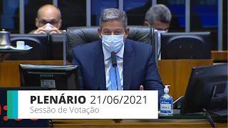 PLENÁRIO - Sessão para a votação de propostas legislativas - 21/06/2021 15:00