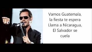 La Gozadera - gente de zona ft marc anthony lyrics - letra