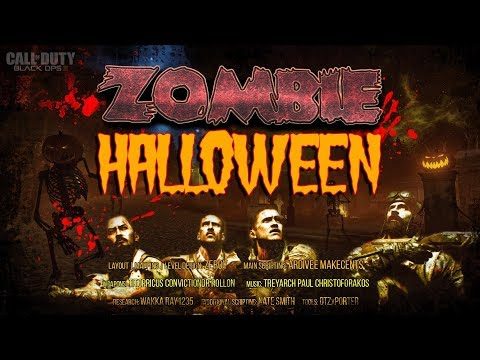 BO3 ZOMBIE  halloween  بلاك اوبس سي زومبي