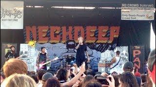 Neck Deep - Happy Judgement Day Live at Warped Tour