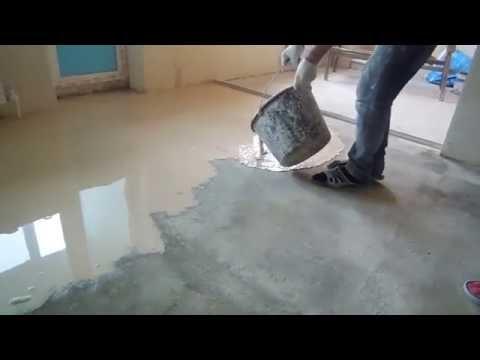 Как залить наливной пол своими руками видео, чем отличается от стяжки полов